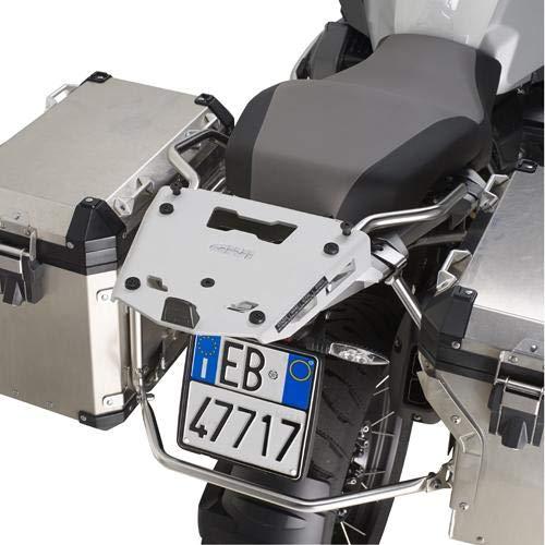 Givi SRA5112 Tirante para Monokey Baúl con Aluminio Placa, Carga Máxima 6...