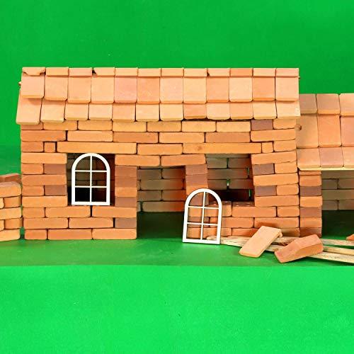Holz Fenster halbrund - 3-12cm Basteln Modellbau, Fenster:Modell 17, Größe:100 x 70mm