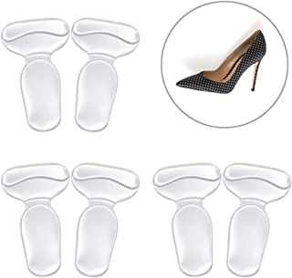 IMOOCARE 3 Pairs High Heel Inserts Invisible Grips - Anti Slip Blister Prevention Shoe Cushion Inserts Foot Pain Relief for Women, Shoe Pads for Too Big Shoes One Size fits All