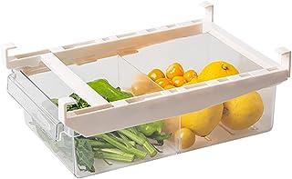 Refrigerator Organizer Bins,Pull Out Drawer Design,Clear Storage Bins For Pantry,Freezer Organizer And Storage,Fridge Organizers And Storage Clear,Under Shelf Storage For Egg,Fruit,Yogurt,Snacks,Pasta