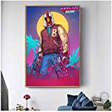 Hotline Miami Poster Hot Game Posters Canvas Painting Wall