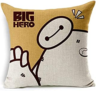 Fashion Cushion Big Hero 6 Baymax Chic Throw Pillow With Filler bz102