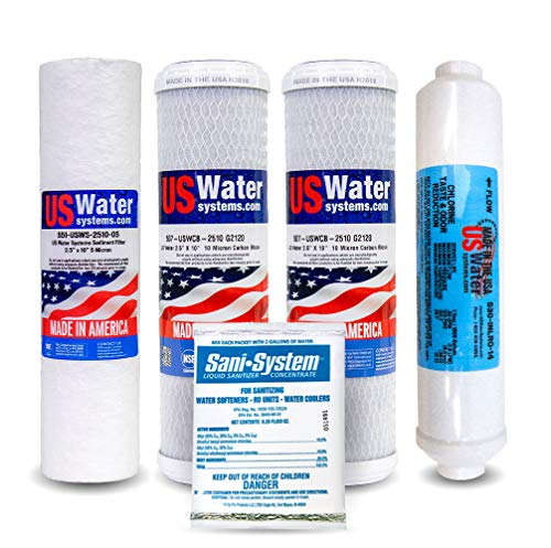 US Water 5 Stage Reverse Osmosis Filter Pack