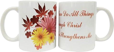 Christian Coffee Mug - I can do all things through Christ -Bible verse Mug