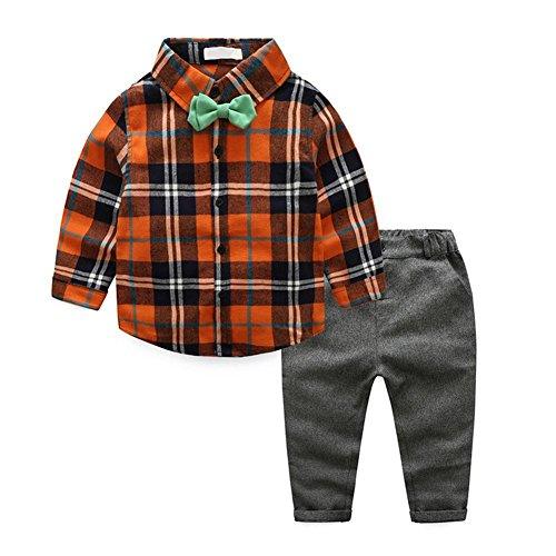 Juego de ropa informal para niños (2 piezas), diseño de camiseta de tirantes (140)