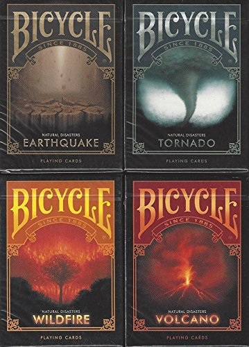 Bicycle Natural DISASTERS Playing C…