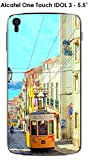 ONOZO Case For Alcatel OneTouch Idol Lisbon 3 – 4.7