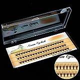 6/8/10 / 12mm dicke lange Kreuz Party falsche Wimpern schwarzes Band gefälschte Wimpern (1 Box,8mm)