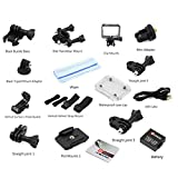 QUMOX Actioncam SJ4000, Action Sport Kamera Camera Waterproof, Full HD, 1080p - 2