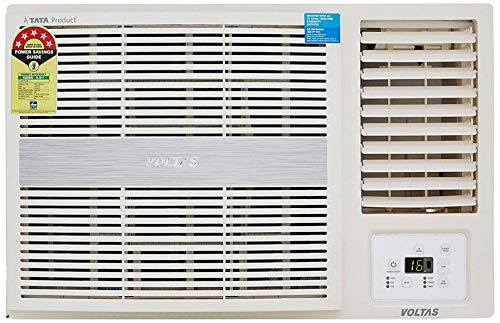 Voltas 1.5 Ton 5 Star Window AC (Copper, 185 LZH/185 LZH R32, White)