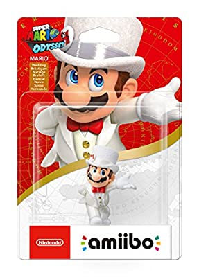 Mario (Wedding outfit) amiibo - Super Mario Odyssey (Nintendo Wii U/Nintendo 3DS/Nintendo Switch)