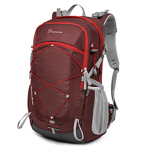 MOUNTAINTOP 40L Hiking Backpack for Outdoor Camping Trekking