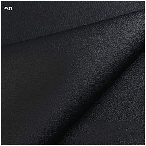SSYBDUAN Möbelstoff Premium Bezugsstoff Zum Kunstleder Soft Feel Material. Breite 63 Zoll Breite. Hohe Qualität und Schweres Gewicht. Feuerhemmend und für Polster Geeignet. Meterware