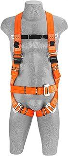 Cinto Paraquedista com 3 argolas Acolchoado Com 3 Pontos de Ancoragem PQ PF/RS - Facintos