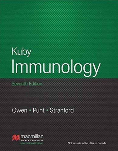 Kuby Immunology: International Edition [Paperback] [Jan 01, 2013] Judy Owen