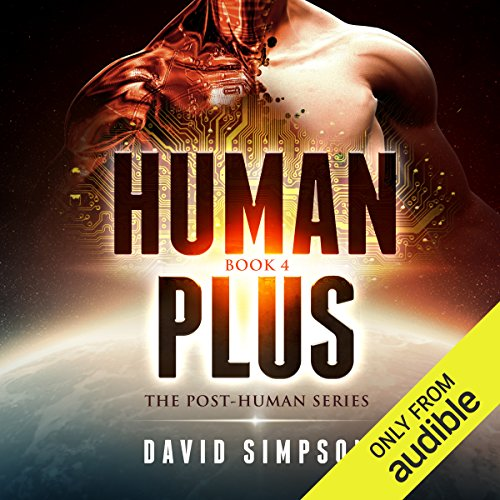 Human Plus audiobook cover art