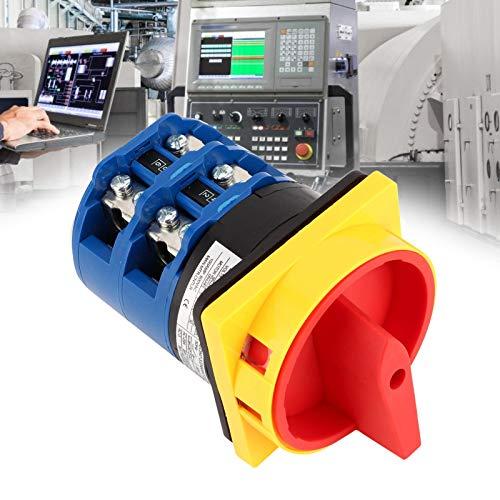 AMONIDA Interruptor de desconexión de Carga, Interruptor de Transferencia PC con Mano de Obra Fina para Motor de Control para Ingeniero