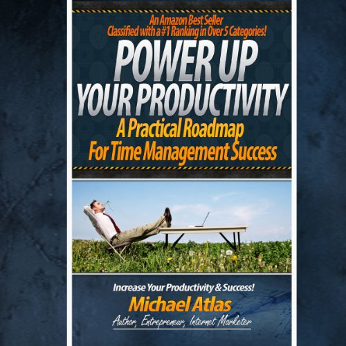 Power Up Your Productivity audiobook cover art
