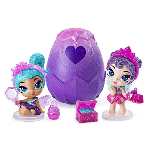 Hatchimals 6047277 Pixies, 2.5-Inch Collectible Doll and Accessories (Styles May Vary), for Kids Aged 5 and Up, Multicolour