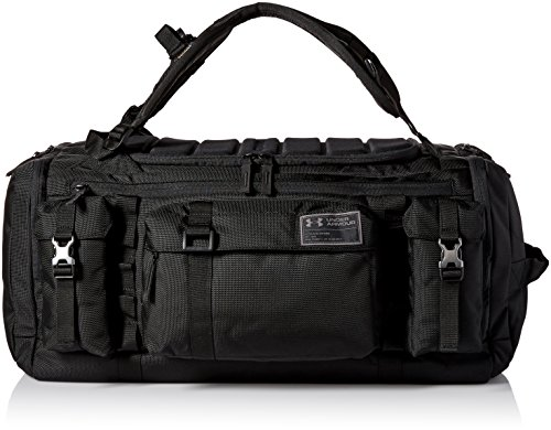 Under Armour CORDURA Range Duffle, Black (001)/Charcoal, One Size Fits All