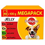 Pedigree Wet Dog Variety Food for Adult Dogs 1+, 40 x 100g