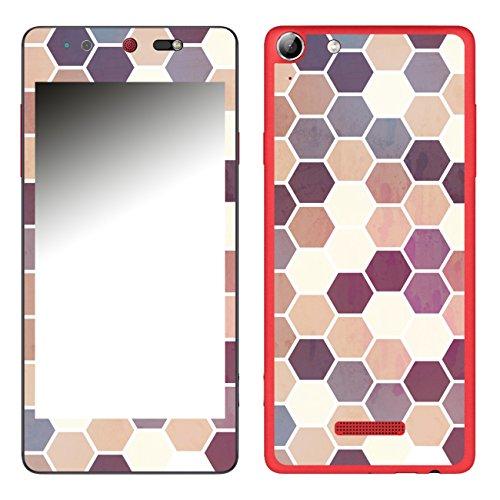 Disagu SF-106693_1208 Design Folie für Wiko Selfy 4G - Motiv Polygone 05