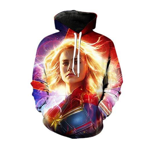 Hoodies,Marvel Captain 3-D Print Coltrui Sweatshirt Cos Film speciale gelegenheid kostuum