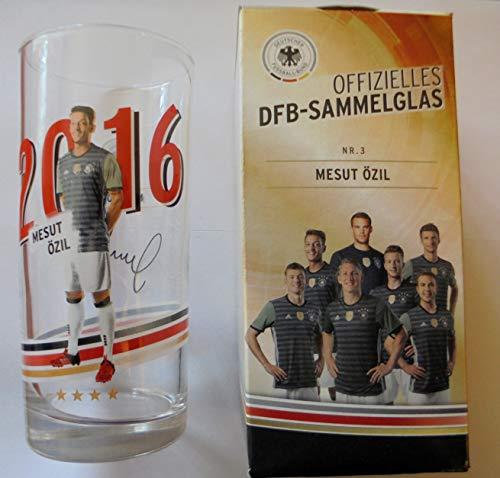 DFB Offizielles Sammelglas Fussball EM 2016 Rewe Ovp Mesut Özil