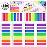 840 Stück Farbige Klein Haftnotizen