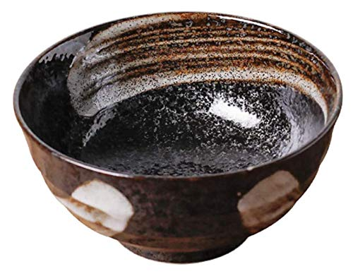 Ramenschüsseln Kreative Suppennudeln Schüssel Japanische Keramik Ramen Suppenschüssel, Persönlichkeit Ramenböcke für Getreide, Vintage Nudelnschale 450ml, Pasta Nudeln Vorspeise lalay (Color : L)