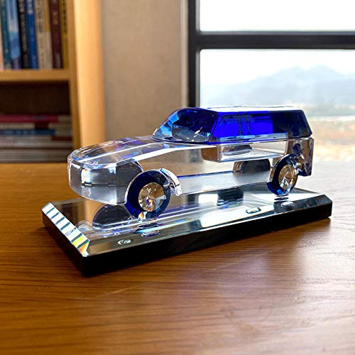 Modelo de Coche de Cristal Estatuilla de Vidrio Modelo de Coche Papel Papel Papel Papel Interior Perfume Botella Adorno Tabla Hogar DEC