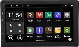 7 Pulgadas Coche MP5 de con HD Touch Bluetooth FM Radio USB y aux,4 Cortex-A7 2 DIN For Android 8.1 1GB RAM 16GB ROM Sopor...