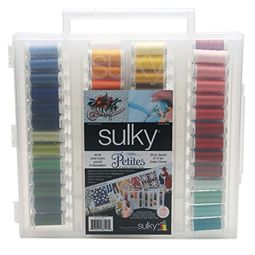 Find Discount Sulky Sulky Cotton Petites Slimline Dream Assortment, Size 12