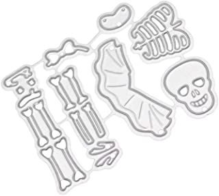 Dancing Skeleton Cutting Dies Stencil Scrapbooking Album Embossing Decor Crafts