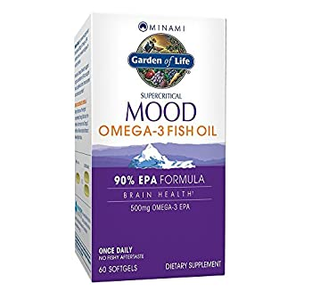 Garden of Life Minami Mood Softgels 60 Count  Pack of 1