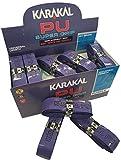 Karakal Super Grip - Cinta de agarre autoadhesiva de poliuretano para bádminton, squash, tenis, palos de hockey o bastones de esquí, paquete de 5 o 24 unidades, varios colores, morado, 24 unidades