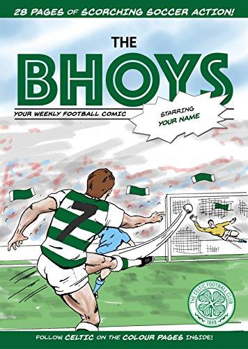 Celtic FC Personalised Comic Book (Soccer Star Comics)