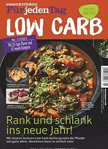 """essen & trinken für jeden Tag - Low Carb 1/2021 """"28 Tage-Planer"""""""