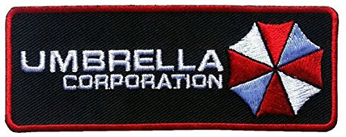 Titan One Europe - Umbrella Corporation Resident Evil Patch Aufnäher Aufbügler