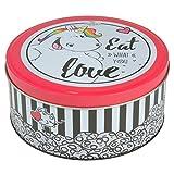 Pummel & Friends - Keksdose (weiß/rot) - Eat what you love