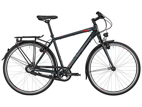 Bergamont Vitess R14 Herren Trekking Fahrrad schwarz/grau/rot 2016: Größe: 48cm (164-170cm)