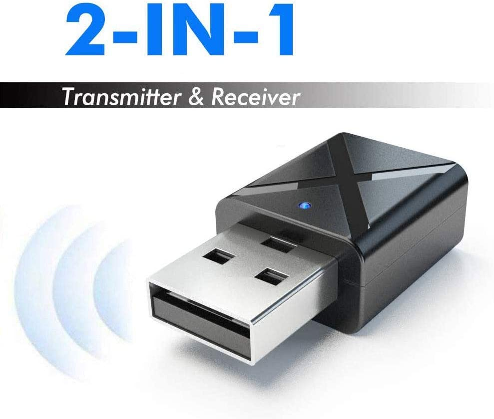 Amazon.com USB Bluetooth 20200.200 Transmitter Receiver, Portable 20 in ...