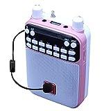 Mr Entertainer Popbox - Altavoz portátil para karaoke, amplificador de voz y micrófono para niños, compatible con cualquier smartphone, iPad o tablet