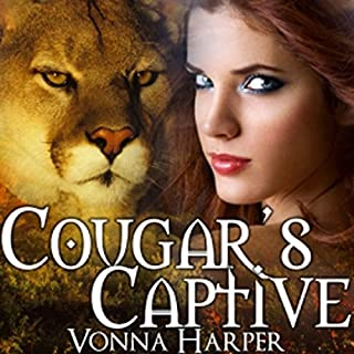 Cougar's Captive audiobook cover art