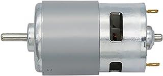 合金製 12V 100W 12000RPM  775 モーター ハイスピード 大トルク 単一ボール 軸受 軸径5mm 交換用