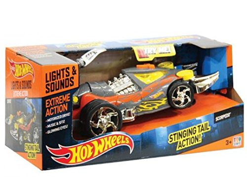 Toy State Hot Wheels Coches con luz,Sonidos y movimientoExtreme Action Scorpedo
