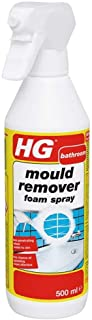 HG 632050106 Remover Foam Spray 500 ml Immediately Eliminates All Moulds Making Filthy Black Stains Disappear, Multicolor...