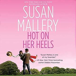 Hot on Her Heels audiobook cover art