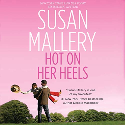 Hot on Her Heels audiobook cover art