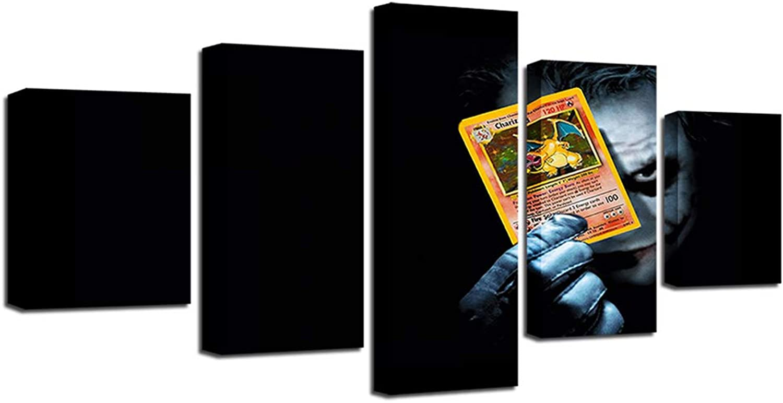 e23f0860bb98 Home Decor Batmans Joker Joker Joker Holding Playing Card in ...